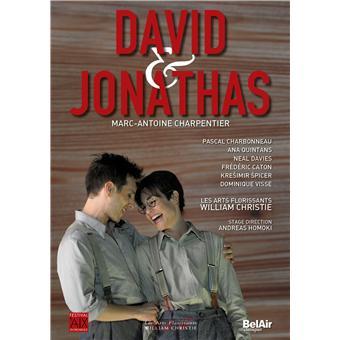 Marc-Anton Charpentier - David et Jonathas - DVD