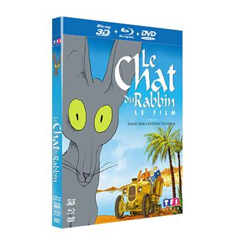 Le Chat du rabbin - Combo Blu-Ray + DVD - Versions 2D et 3D