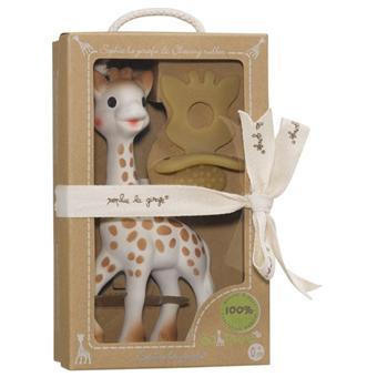 Vulli Sophie the giraffe So Pure Chewing Rubber Sophie la Girafe