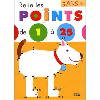 Relie les points de 1 à 25