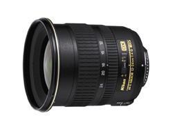 Objectif reflex Nikon AF-S DX IF ED 12 - 24 mm f/4.0 série G Nikkor
