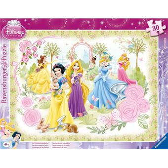 Ravensburger puzzle les princesses au jardin disney for Jardin walt disney