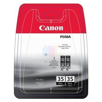 Canon PGI-35 Twin Pack - pack de 2 - noir - original - réservoir d'encre
