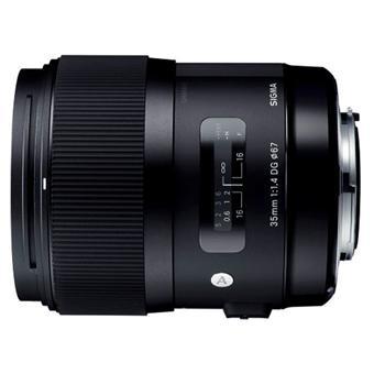 Objectif reflex Sigma DG A 35 mm f/1.4 HSM Ligne ART; Monture Canon