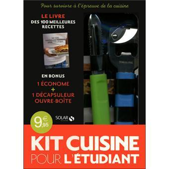 Le Kit Cuisine Pour L Etudiant Coffret Avec 1 Decapsuleur Ouvre