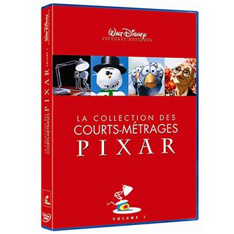La Collection des courts-métrages Pixar Volume 1 DVD
