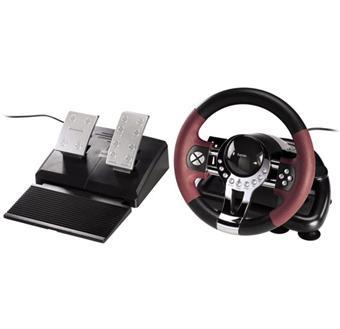 volant p dalier hama pour ps3 et pc accessoire console de jeux achat prix fnac. Black Bedroom Furniture Sets. Home Design Ideas