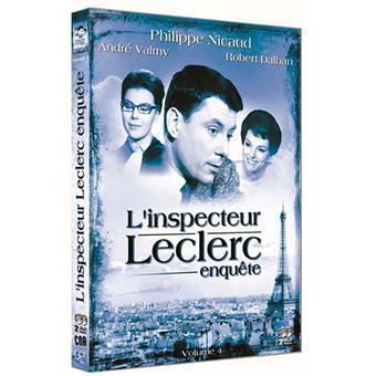 L'Inspecteur LeclercL'Inspecteur Leclerc - Coffret 4
