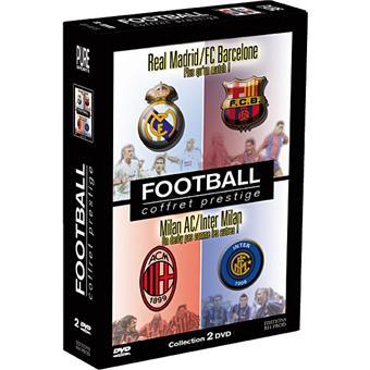 FOOTBALL-COFFRET PREST-REAL MADRID-INTER MILAN-2 DVD-VF