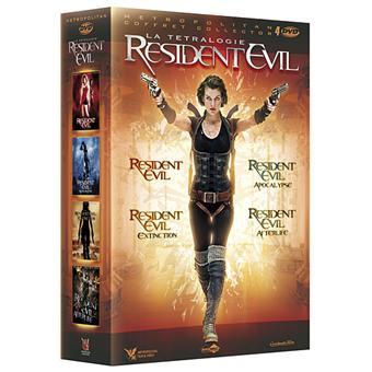 Resident Evil - Coffret de la Tétralogie