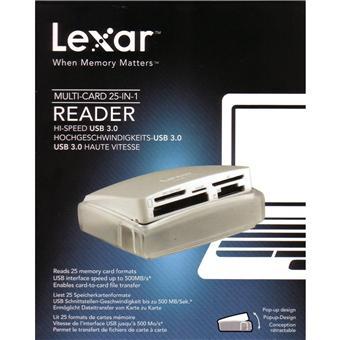 LEXAR READER 25 EN 1 USB 3.0