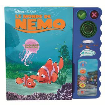 Vtech Magi Livre Interactif Nemo Avec Lunettes 3d