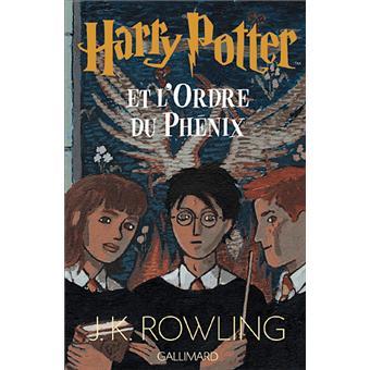 Harry potter tome 5 harry potter et l 39 ordre du ph nix j k rowling broch achat livre - Harry potter livre pdf gratuit ...