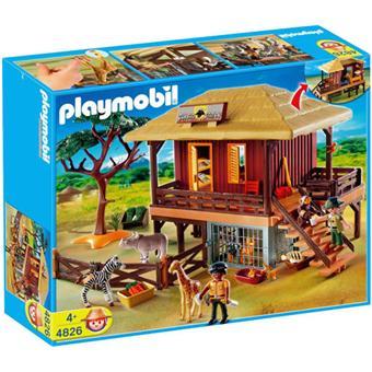 Playmobil 4826 centre de soins pour animaux sauvages playmobil playmobil achat prix fnac - Playmobile savane ...