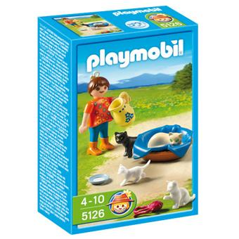panier chat playmobil