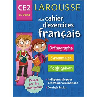 Mon Cahier D Exercices Francais Ce2