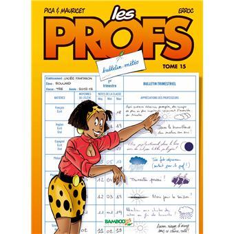 Les profsLes Profs - tome 15 - Bulletin météo