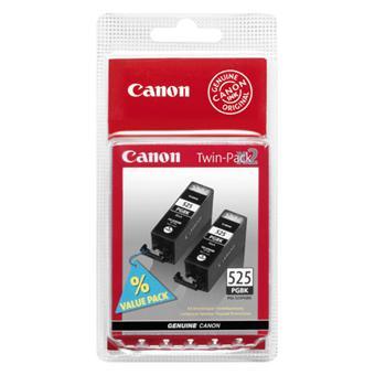 Cartouche Canon CLI-525 Noir Twin Pack