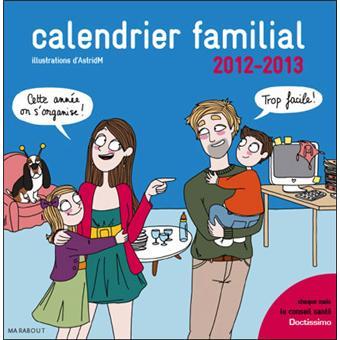 Calendrier familial 2012-2013 Doctissimo
