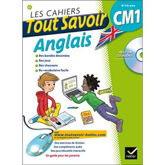 Les cahiers Tout Savoir Anglais CM1 - Poche - Martial Defrasne, Corinne Touati, Collectif ...
