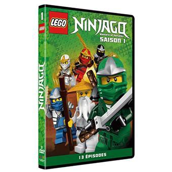 Lego ninjago les ma tre du spinjitzu saison 1 2 dvd - Ninjago saison 2 ...