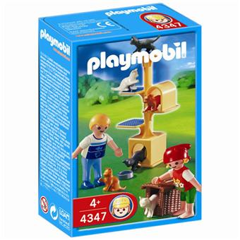 panier chat playmobil