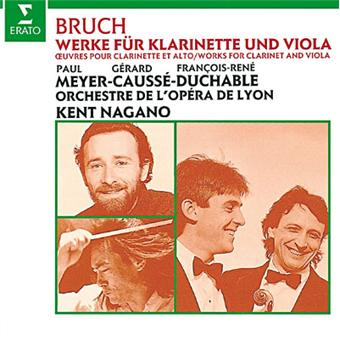 BRUCH : CONCERTO FOR CLARINET
