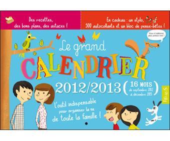 Calendrier 2012 / 2013