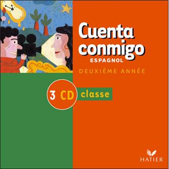 cuenta conmigo espagnol quatrieme cd eleve cd eleve