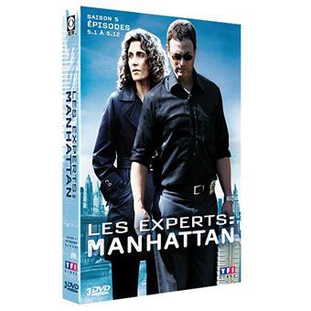 Les Experts ManhattanCoffret de la Saison 5 - Partie 1