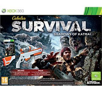 Cabela's Survival - Shadows of Katmai + fusil