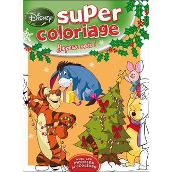 Winnie L Ourson Super Coloriage Noel