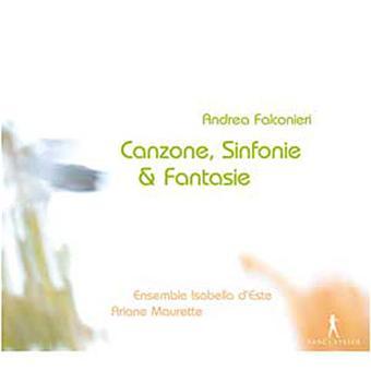 Canzone,Sinfonie,Fantasie (1650)