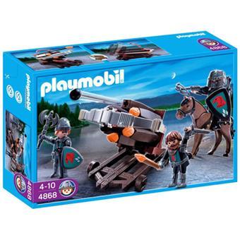 playmobil 4868 baliste 6 projectiles et chevaliers du faucon - Playmobile Chevalier