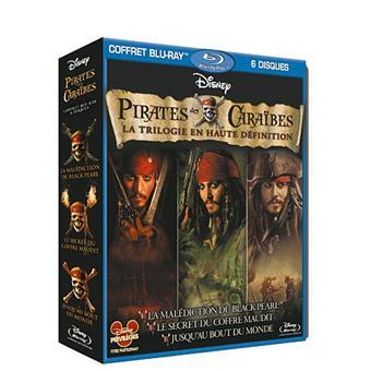 Pirate Des CaraïbesPirates des Caraïbes - Coffret de la Trilogie - Edition Blu-Ray