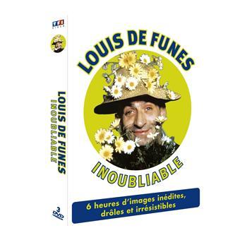 Louis De Funès : Inoubliable - Coffret inédit 3 DVD