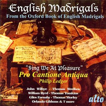 English madrigals from..