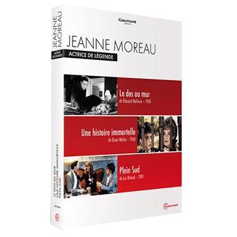 Coffret Jeanne Moreau : Actrice de légende 3 films DVD