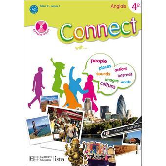 Connect 4e Palier 2 Annee 1 Anglais Livre De L Eleve