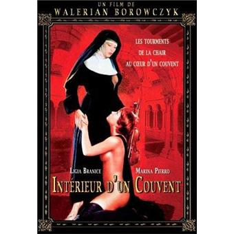 Int rieur d 39 un couvent dvd zone 2 walerian borowczyk for Interieur d un couvent streaming