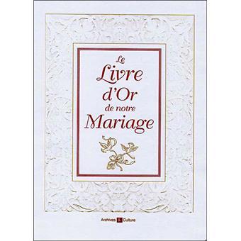 Livre D Or De Notre Mariage