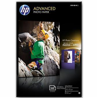 Papier photo imprimante HP Advanced - Brillant