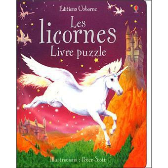 Licornes Livre Puzzle