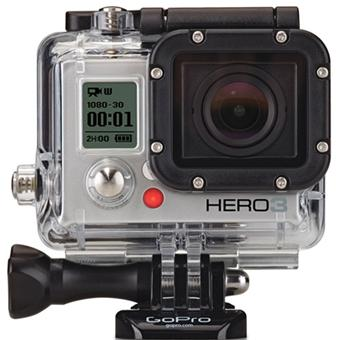 gopro hero3 silver edition cam ra de poche cam scope carte m moire achat prix fnac. Black Bedroom Furniture Sets. Home Design Ideas