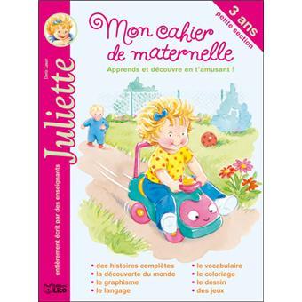 JulietteMon cahier de maternelle Juliette petite section