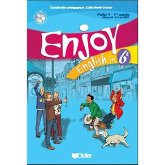 Enjoy English 6e Livre Cd Audio Rom