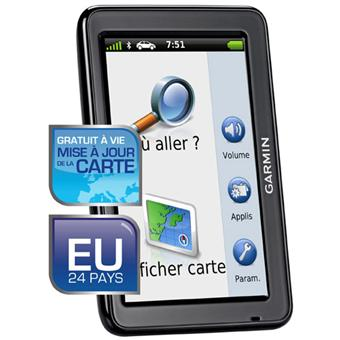 gps garmin n vi 2545 lm gamme advance europe gratuit vie mise jour de la carte gps. Black Bedroom Furniture Sets. Home Design Ideas