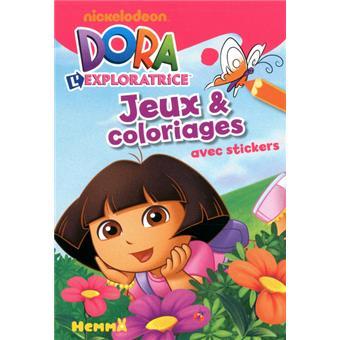 Dora L Exploratrice Papillon Jeux Et Coloriages Collectif Broche Achat Livre Fnac