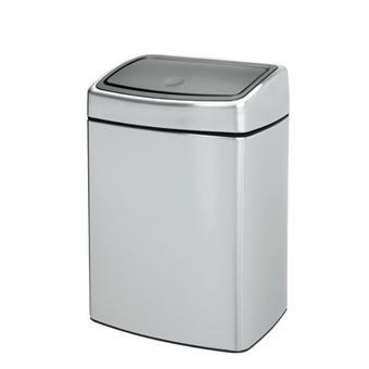 brabantia 477225 poubelle touch bin 10 litres matt. Black Bedroom Furniture Sets. Home Design Ideas