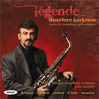 Légende - Oeuvres pour saxophone et orchestre